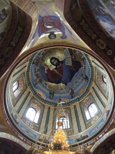Moldova Church Ceiling