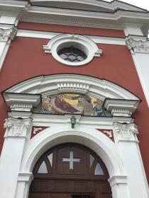 Moldova Church front