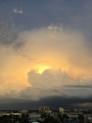 Sunset Storm Cloud