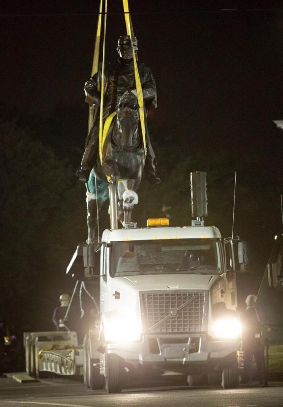 PGT Beauregard monument down