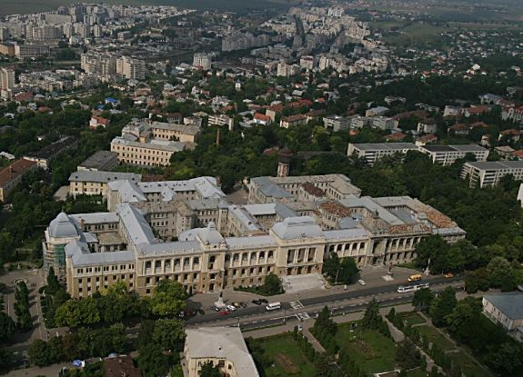 "aerial_view_to_the_University_""A.I.Cuza"""
