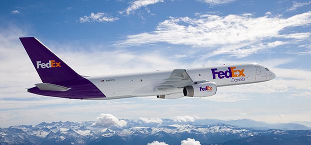 Fedex-Plane
