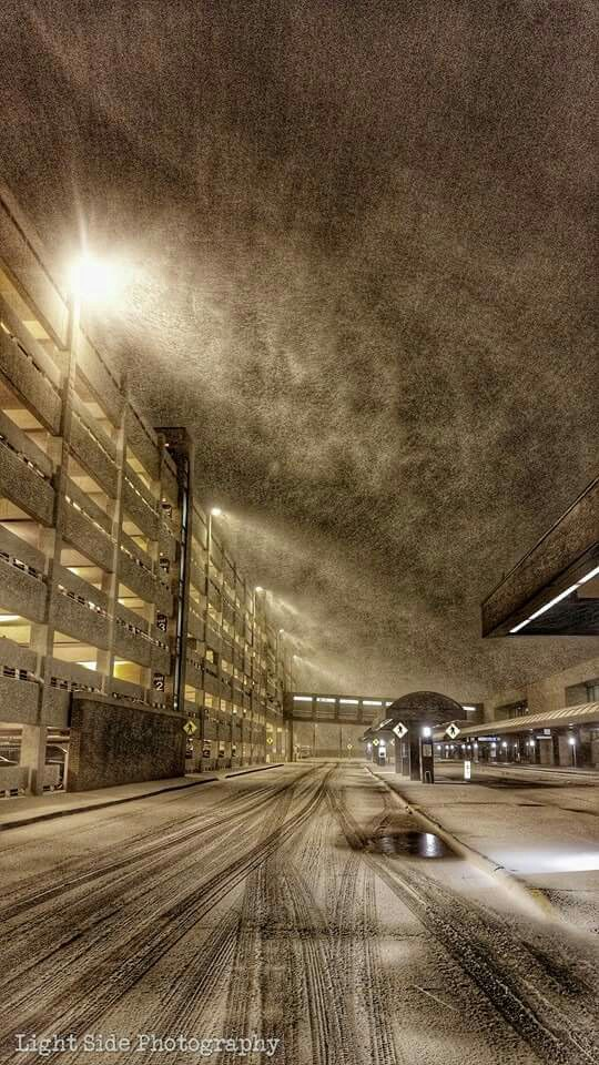 Eppley Airport - Snow