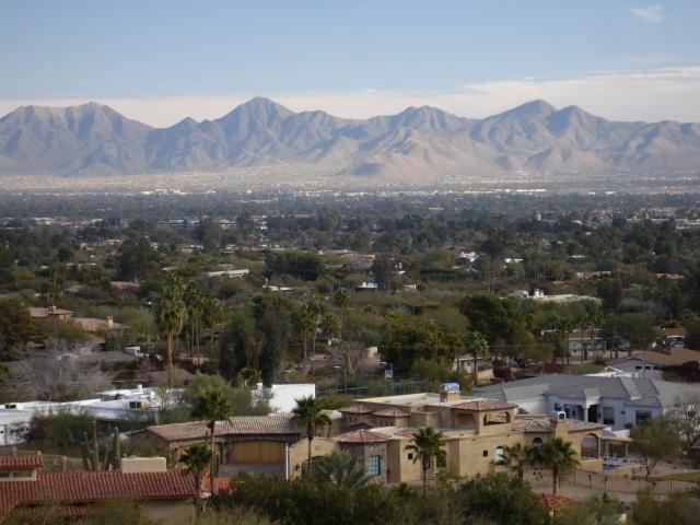 Mountains around Phoenix