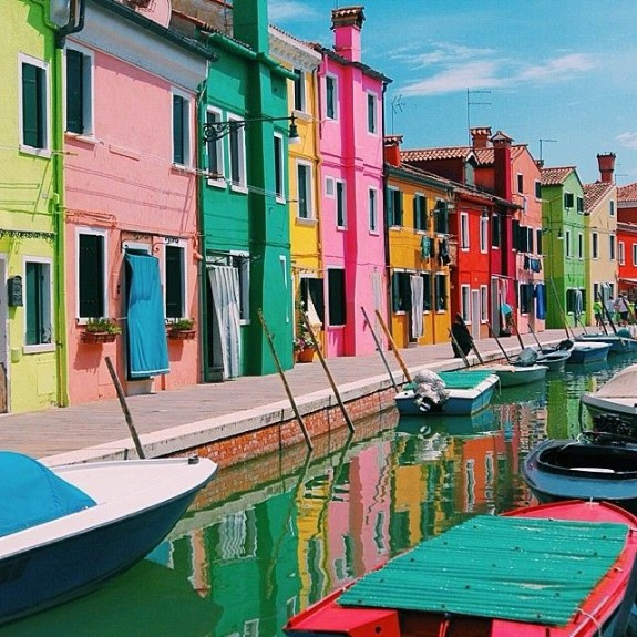 Burano Buildings