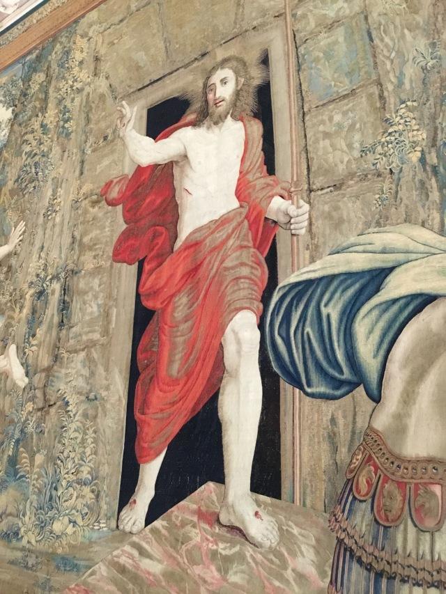 Jesus Red Robe
