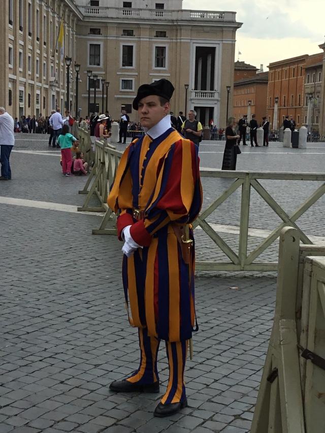 Pope Parade Man