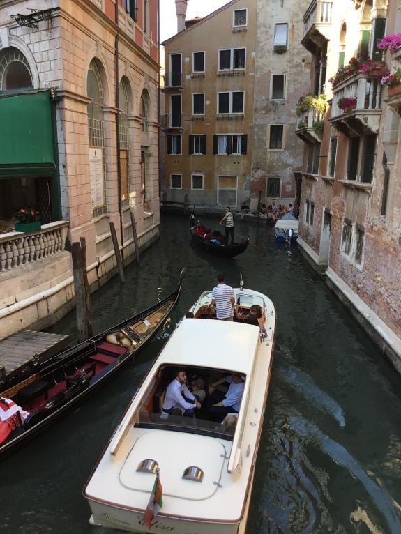 Venice boat gondola