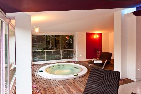 jacuzzi Villa Rizzo Resort
