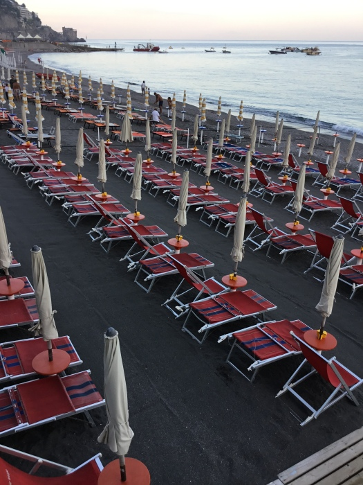 Empty Cabanas