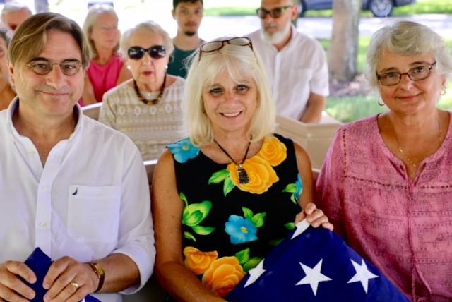 Family at Memorial