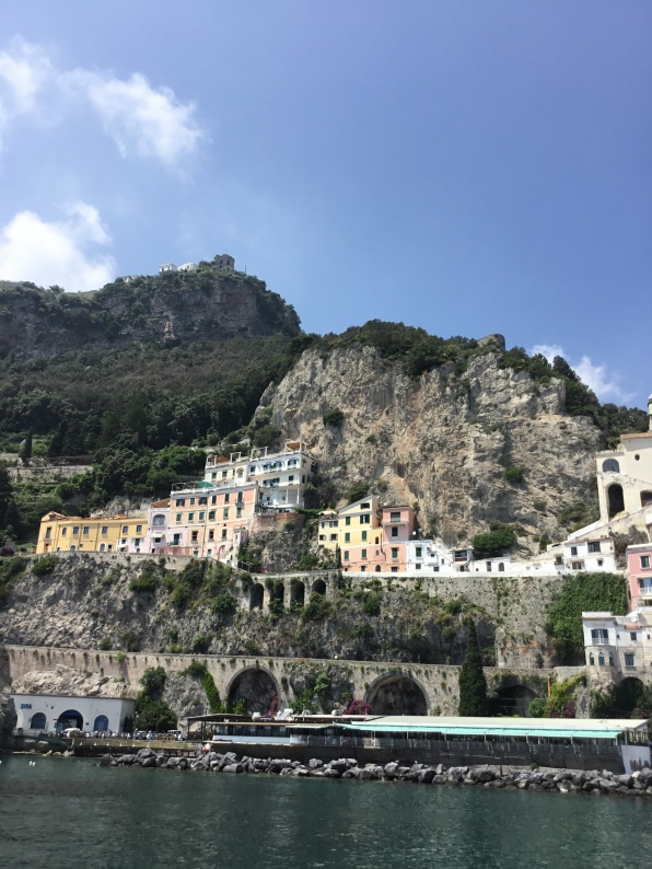 Positano Close Up Hill and Water