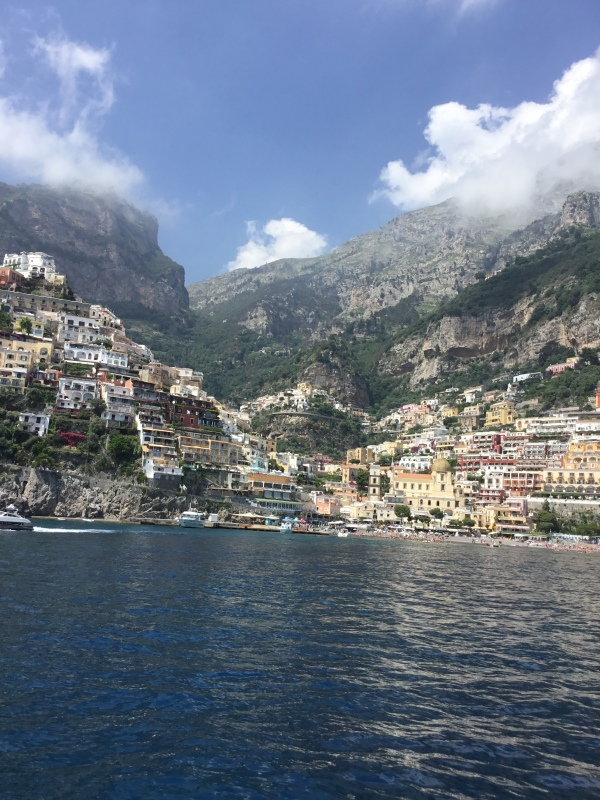 Positano Gorgeous Water View