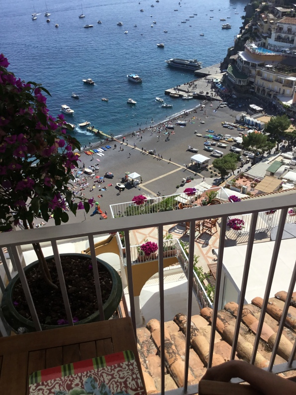 Positano View from Veranda
