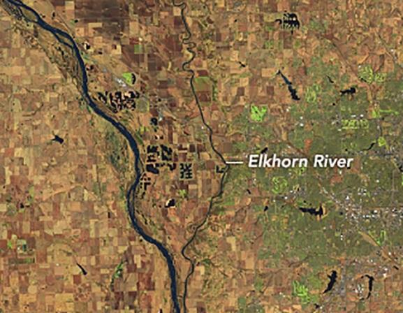 flood-before Elkhorn River